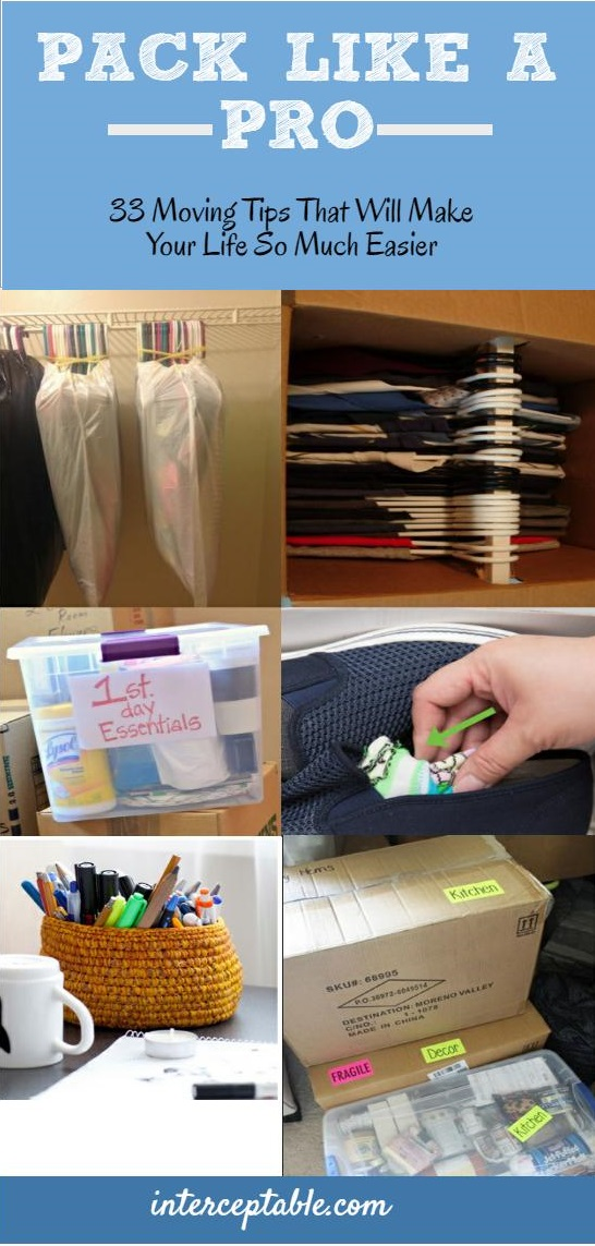 33 Moving Tips That Will Make Your Life So Much Easier ...