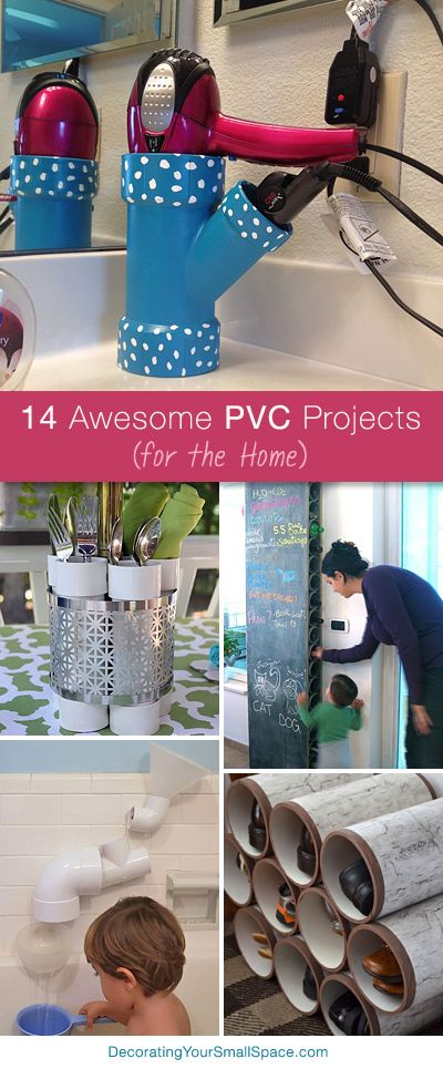 8 awesome diy projects using pvc pipes popcane for Epic diy projects